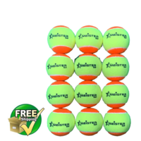12 x STAGE 2 MEISTER TENNIS BALLS ORANGE